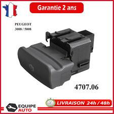 Bouton Electrique Frein à Main PEUGEOT 3008 et 5008 Tous Modèles N°/ 470706