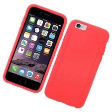 Fundas y carcasas Para iPhone 6s color principal rojo de silicona/goma para teléfonos móviles y PDAs