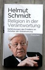 HELMUT SCHMIDT - Religion in der Verantwortung - Ullstein gebunden