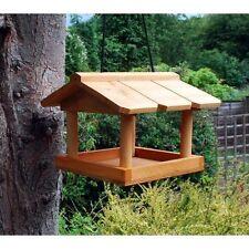 SUSPENDU OISEAU EN BOIS TABLE GARDEN BIRDS ANIMAL ARBRE CROCHET ACCROCHER