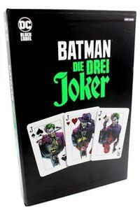 BATMAN:DIE DREI JOKER 1,2+3 COLLECTORS EDITION deutsch VARIANT-HARDCOVER Schuber