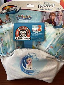SwimWays Frozen II, Swim Trainer Life Jacket. Size Child, Weight 30-50Lbs. New