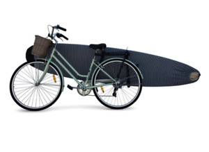 Alies Malibu / Longboard Bike Carry Rack