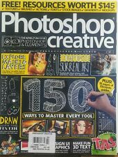 Photoshop Creative UK Issue 150 150 Ways to Master Every Tool FREE SHIPPING sb