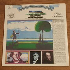 """Classical LP: """"William Tell"""" (and more), L. Bernstein, 1973, FACTORY-SEALED"""