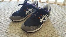 Asics Gel-Lyte III Black/Orange/Purple/Grey - Size 8 - Preowned