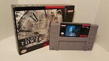 Clock Tower / Clocktower - English SNES Super Nintendo Sealed in Box NTSC
