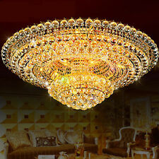 Modern Crystal Chandeliers Luxury Pendant Lamps Ceiling Fixtures Home Decoration