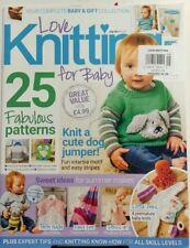 Love Knitting For Baby UK July 2017 25 Fabulous Patterns Sewing FREE SHIPPING sb