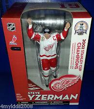 """McFarlane NHL Legends STEVE YZERMAN Red Wings 12"""" Exclusive Stanley Cup Figure"""