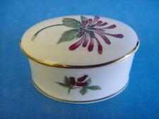 More details for princess royale english made fine bone china oval trinket box herbs