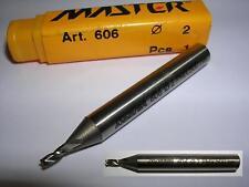 Fresa cilindrica MASTER D.2,0 3 Tagli