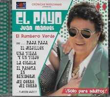El Payo Juan Manuel – El Rumbero Verde CD 2004