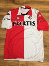 2007/2008 KAPPA FORTIS Feyenoord Rotterdam Home Red White Jersey Medium Rare