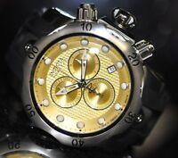 Invicta Men's Rare Venom Swiss Reserve Chrono Gold Tone Dial Poly Watch 16151