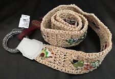 New Brighton - Women's Belt Size S / M - Meadow Garden / Floral B31094 Crocheted