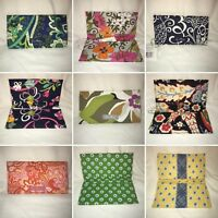 VERA BRADLEY Checkbook Covers - Multiple Patterns Available - 6.75 x 3.5