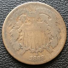 1868 Two Cent Piece 2c Circulated #20123