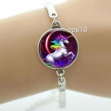 Unicorn Bracelet...Rainbow...Horn...Fantasy...Gift Ladies or Girls