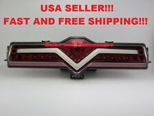 Scion FR-S LED Rear Bumper Reverse 4th Brake Fog Light Lamp Clear/Red FRS