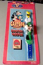 Virtual Mickey Series present Goofy Pippo digital watch Zeon MISB very rare