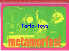 METAMORFOSI Italian progressive rock - postcard - cartolina Nuovo pop