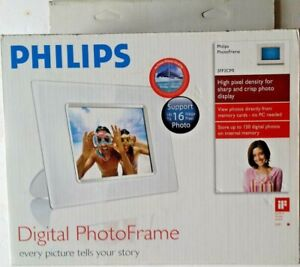 """Philips 5.6"""" LCD Display Photo Frame 5ff2cm / NEW IN BOX"""
