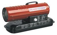 Sealey AB708 Space Warmer Paraffin, Kerosene & Diesel Heater 70,000Btu/hr withou