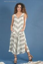Linen Summer Stripes Dresses for Women