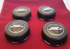 BMF Wheels Flat Black Custom Wheel Center Cap (Fits All 5-Lug) SET of 4