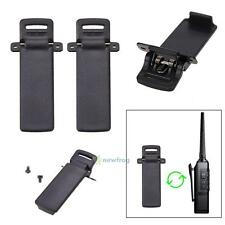 2Pcs UV-5R Clip 2-way Radio Walkie Talkie Spare Part Back Belt Clip For Baofeng