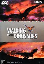 Walking With Dinosaurs BBC DVD R4 Region 4 PAL Two Disc Set Aust Post