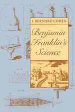 NEW Benjamin Franklin's Science by I. Bernard Cohen