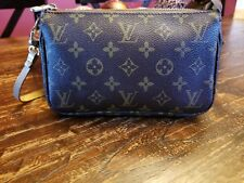 Vintage Louis Vuitton Accessory Pouch Pouchette Monogram Handbag Purse