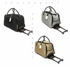 CABIN TRAVEL BAG LIGHTWEIGHT WHEELED  SUITCASE HAND LUGGAGE TROLLEY CASE HOLDALL