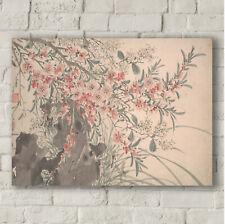 Garden Flowers By Chen Chun. Fine Art Canvas