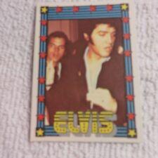 1978 Monty Gum - ELVIS PRESLEY - Club Card From Holland - (Blank Back) - Card 16
