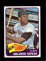 1965 TOPPS #360 ORLANDO CEPEDA VG GIANTS HOF NICELY CENTERED *SBA3515