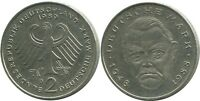 2 DM 1989 D L.Erhard BRD Germany #AG260.3DW