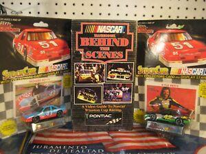 Nascar Pontiac Team VHS Tape + 2 Racing Champions 1994 Richard Kyle Petty Cars