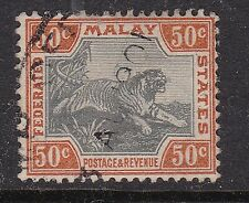 MALAY^^^^^^^RARER  KEY  #25  used  TIGER CLASSIC $$@ sc3.
