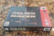 Star Wars: Episode I: Racer (Nintendo 64, 1999) FACTORY SEALED