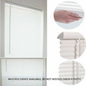 1'' CORDLESS MINI BLIND WINDOW VINYL WASHABLE MULTIPLE SIZE PRIVACY SHADE BLINDS