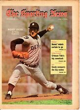 Sporting News 9/25/1971 Baseball magazine, Mickey Lolich, Detroit Tigers ~ VG