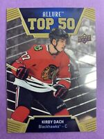 2019-20 Upper Deck Allure Hockey Top 50 Rookie #T50-2 Kirby Dach Chicago RC