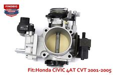 OEM THROTTLE BODY 16400-PLR-A54 with TPS ACV for Honda CIVIC 4AT CVT 1.7L 01-05