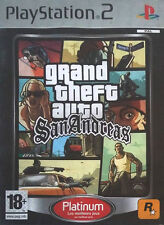 Grand Theft Auto: San Andreas Sony PS2 Video Games