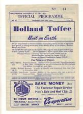 More details for 1955/56     southport    v    coventry city    testimonial     wednesday may 2nd