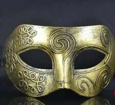 The Roman men gold mask, Fancy Dress mask,Children's parties, masquerade mask