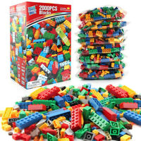 2000 Pieces DIY Building Blocks Bulk Sets City Lego Bricks Toys children Gift
